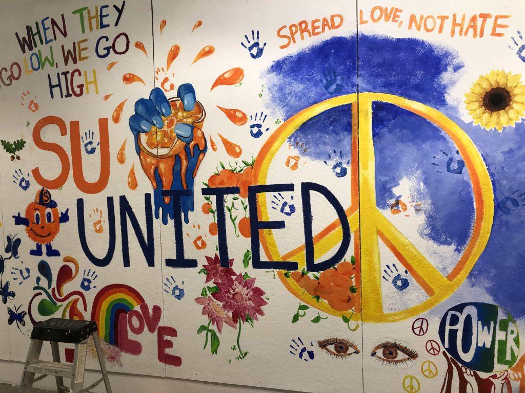 Comstock Art Facility mural