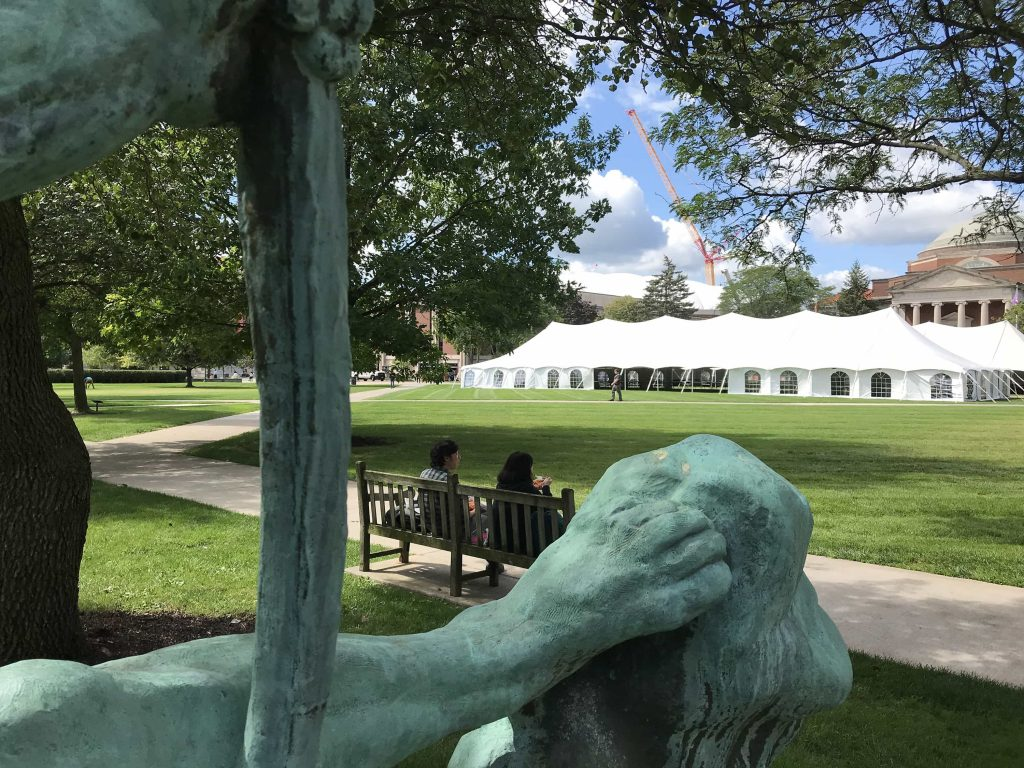 The Quad at Syracuse University - September 2019