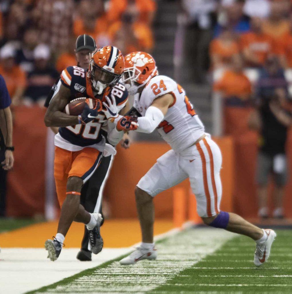 Syracuse wide receiver Trishton Jackson