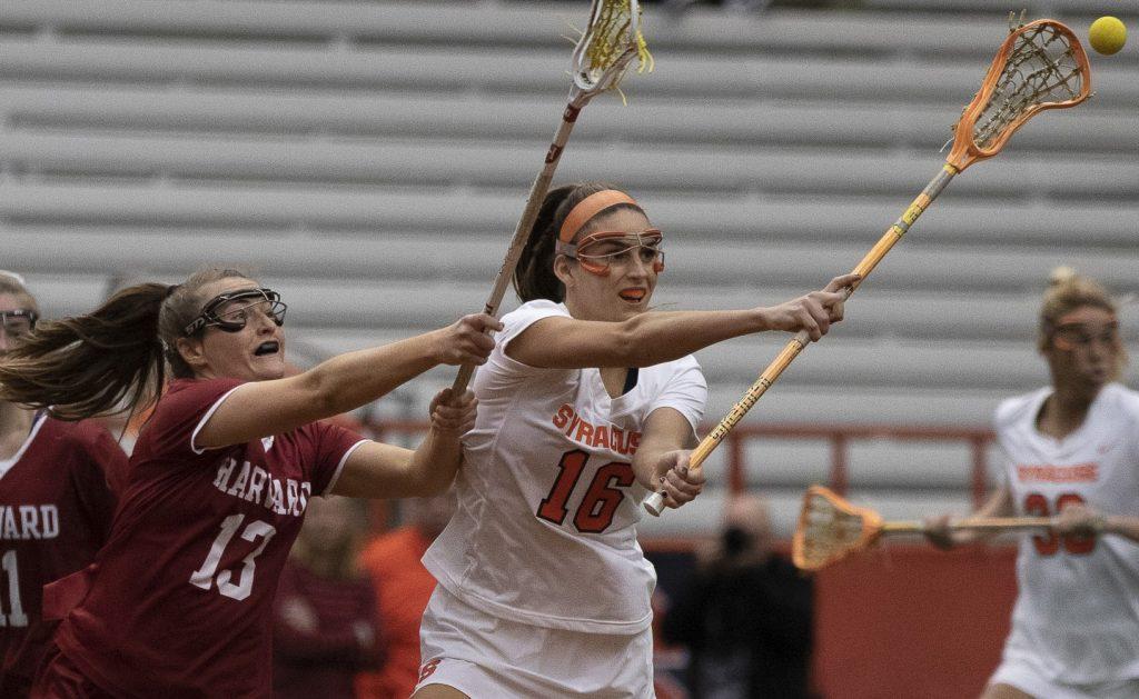SU Lacrosse Vs. Harvard