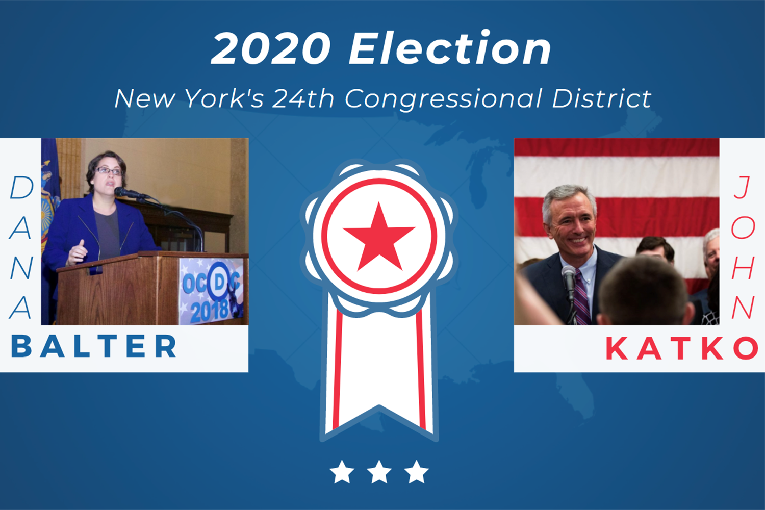 2020 Election: Dana Balter vs. John Katko