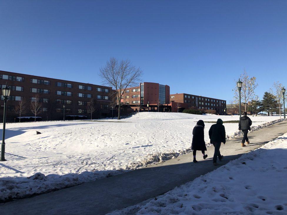 The University of Vermont campus.