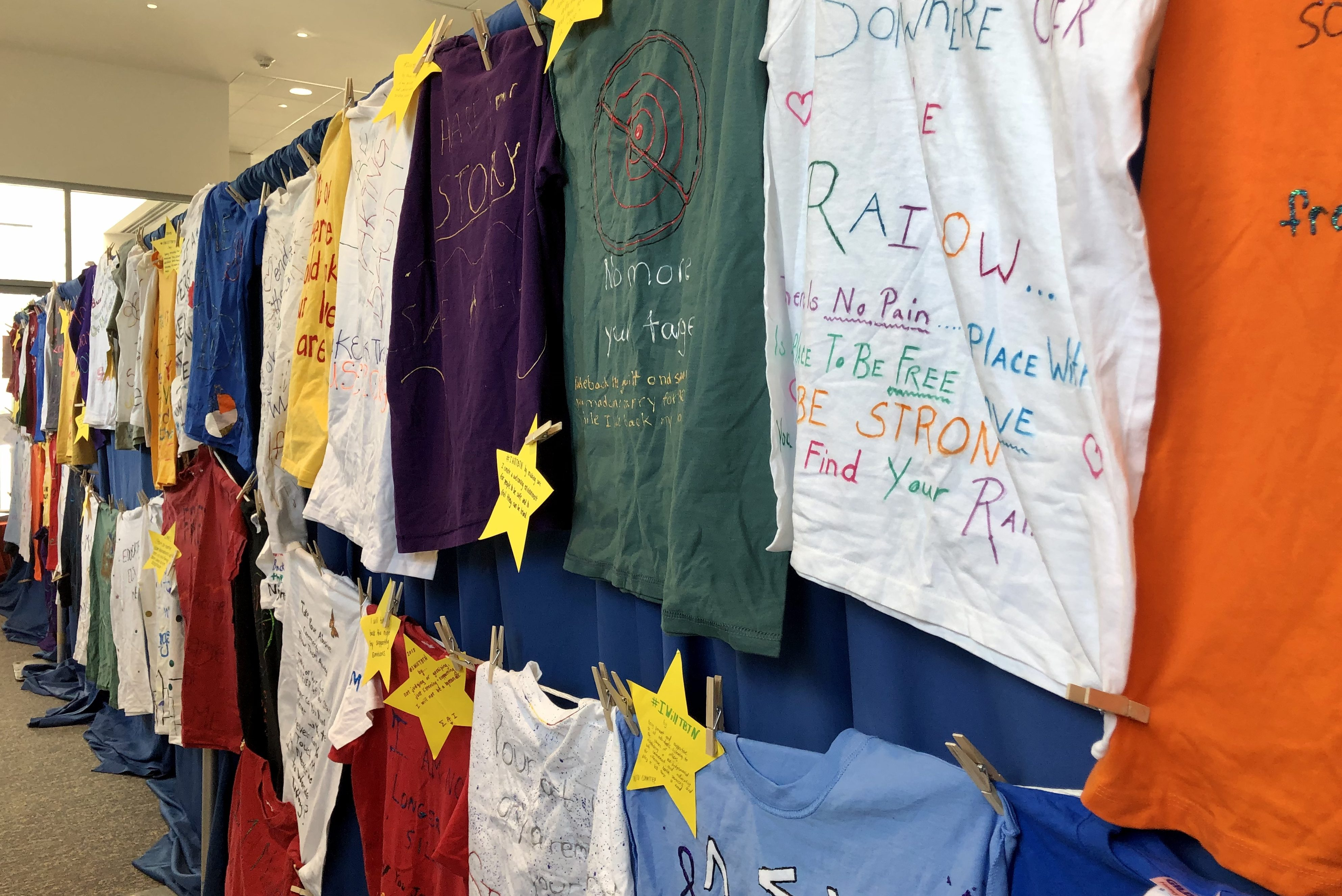 Clothesline Project T shirts