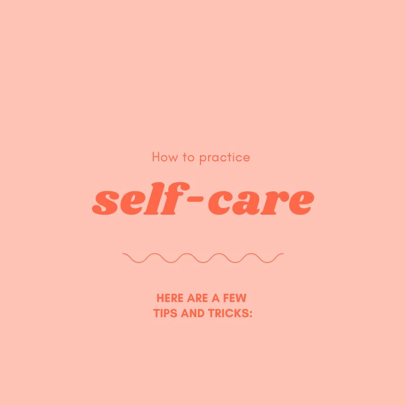 Mental Health: Self Care Tip 1