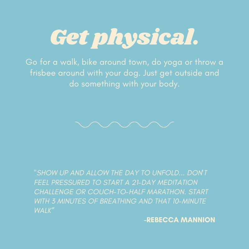 Mental Health: Self Care Tip 2