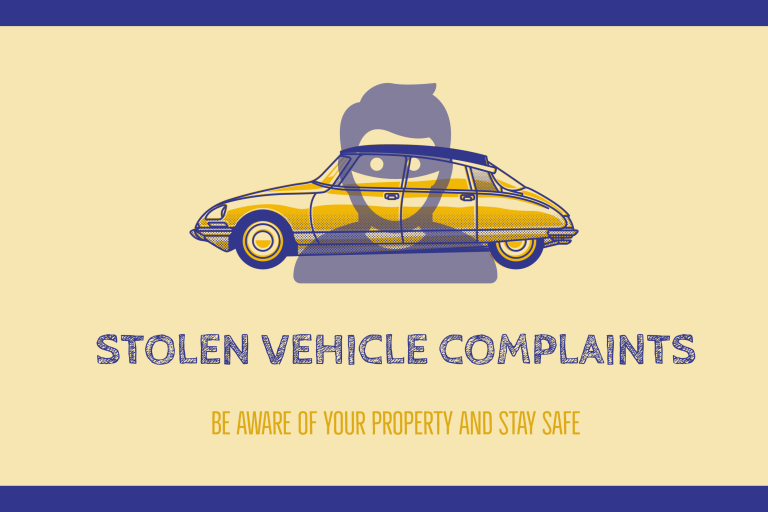 Stolen Vehicles Illustration