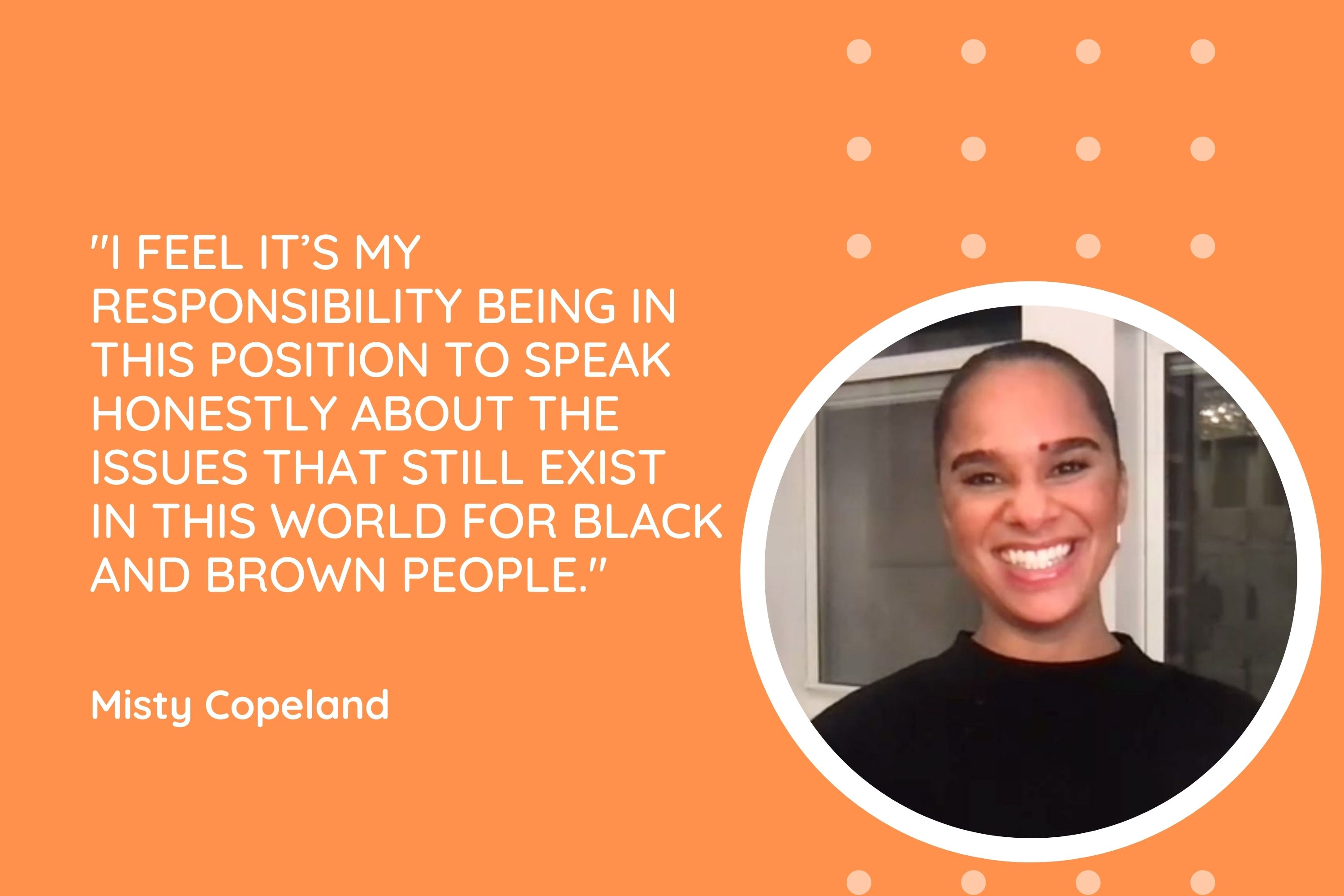 Misty Copeland - Quote Card